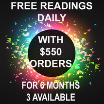3 AVAILABLE! FREE DAILY READINGS FOR 6 MONTHS WITH $550 ORDER!! LIMITED TIME - $550.00