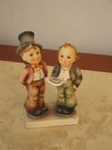 GOEBEL HUMMEL FIGURINE #HUM130  DUETT Singing Boys - Mint - $117.81