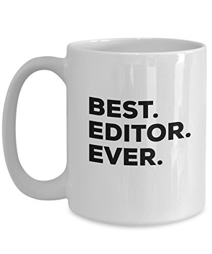 Editor Mug - Best Editor Ever Coffee Cup - Editor Gifts - Video Audio Film 1 Aud
