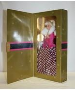 AVON Barbie Winter Rhapsody (Blonde) #16353 SE 1996 Exclusive - $12.86