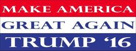 Make America Great Again Magnet 3x8 inch 2016 Republican Trump Decal for... - $6.99
