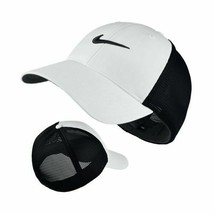 NEW! NIKE [L/XL] Adult Unisex Legacy91 Tour Fitted Mesh Hat 727031-White/Black  - £45.19 GBP