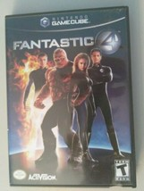 Game Cube Replacement Case Fantastic 4  With Manual No Game - $6.83