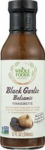 Whole Foods Market Black Garlic Balsamic Vinaigrette, 12 oz