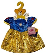 Build a Bear Disney Snow White Costume Dress Doll Teddy Stuffed Animal O... - $44.95
