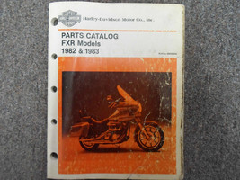 1982 1983 Harley Davidson FXR Parts Catalog Manual FACTORY NEW - $99.97