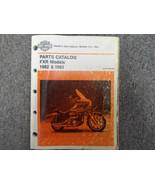1982 1983 Harley Davidson FXR Parts Catalog Manual FACTORY NEW - $99.97