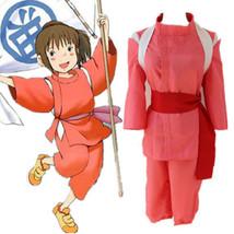 Spirited Away Chihiro Ogino Sen Cosplay Costume Kimono Suit - $26.99
