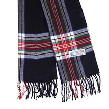 Plaid Cashmere Feel Classic Soft Luxurious Winter Scarf For Men Women (B... - $25.36