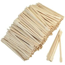 1000pcs Wax Spatulas Small Wax Wood Sticks, Waxing Applicator Sticks Wooden Craf