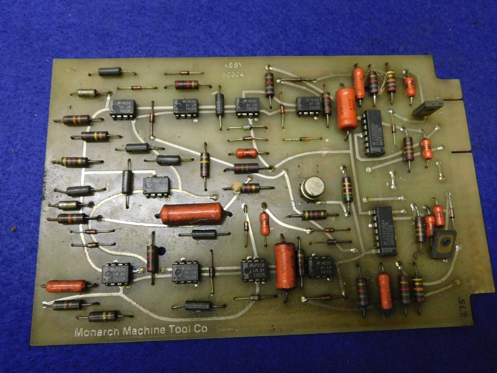 Monarch Machine Tool Printed Circuit Board And 50 Similar Items Assy 50304