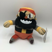 "CUPHEAD CAPTAIN BRINEYBEARD FUNKO 8"" AUTHENTIC PLUSH SERIES 2 2019 - $20.81"