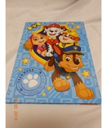 New Paw Patrol book bound notebook 60 lined sheets w/ class schedule math charts - $6.44