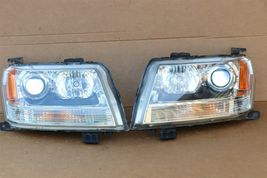 06-08 Suzuki Grand Vitara Halogen Headlight Light Lamp Matching Set L&R POLISHED image 5