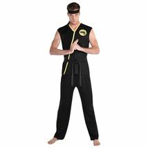 Amscan Cobra Kai Karate Kid Mike Barnes Adult Mens Halloween Costume 840... - $44.99