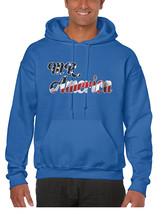 Men's Hoodie Mr America Cool USA American Flag Hoodie - $23.94+