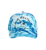 True Religion Men's Buddha Trucker Hat Adjustable Baseball Cap Snapback TR2580T image 3