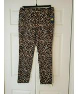 Adrienne Vittadini Leopard Print Ladies Pants Size 6 NWT (New w/Tag) - $24.70