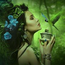 Elemental Fairies - Choice of Air – Water – Earth – Fire Fairy - Vessel Choice o - $59.00