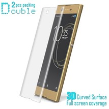 2Pcs IMAK for Sony Xperia XA1 Explosion-proof 3D Curved Full Coverage So... - $6.63