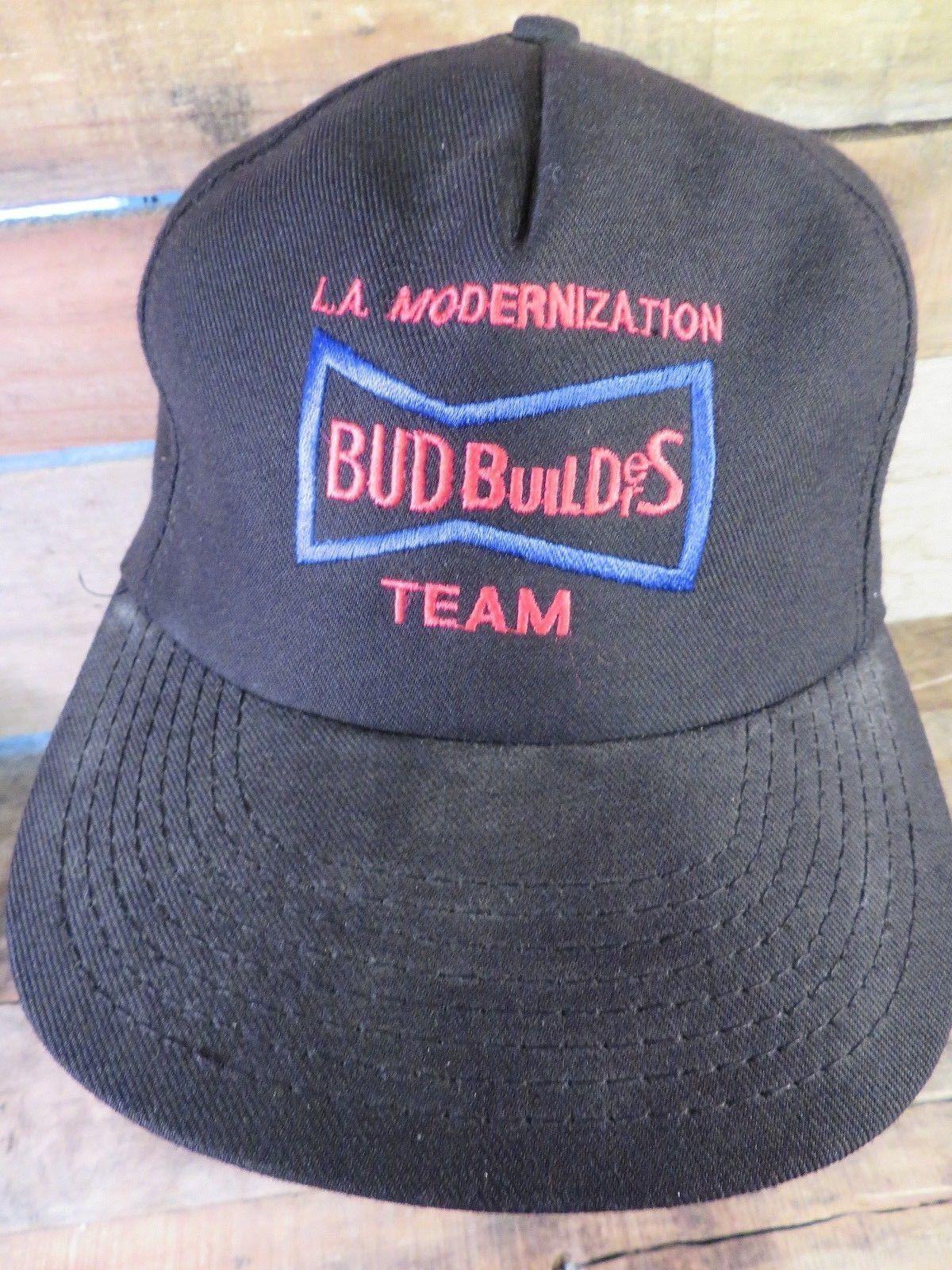 L.A. Modernization BUD BUILDERS Team Safe Adjustable Snapback Adult Hat Cap - $19.79