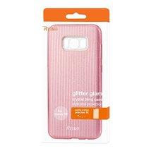 Reiko Wireless Samsung Galaxy S8 Shine Glitter Shimmer Stripe Hybrid Cas... - $12.25