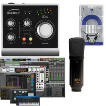 Audient iD4 & MXL 440 Pro Tools Home Recording Studio Bundle Package w/X... - $249.99
