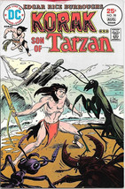 Korak, Son of Tarzan Comic Book #58, DC Comics 1975 FINE - $5.94