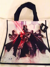 "Cool STAR WARS  Villains Reusable Shopper Tote Bag—Size: 13"" x 11"" NEW! - $6.25"