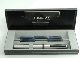 Tombow Object Stainless Steel Fountain Pen F/M nib, Made in Japan, Free shipping image 4