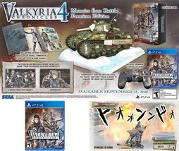 PS4 Valkyria Chronicles 4 Memoirs From Battle Edition Video Games PlaySt... - $113.47