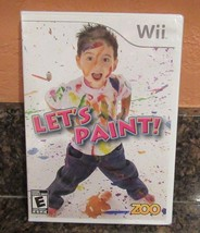 Let's Paint (Nintendo Wii, 2010) Brand New Factory Sealed - $6.92