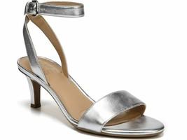 Naturalizer Tinda Dress Sandals, Cushioned, Silver, Size 7 W - $39.99
