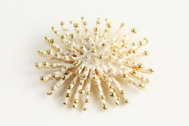 ESTATE Jewelry VINTAGE MODERNIST BRUTALIST SPIKE BROOCH - $35.00