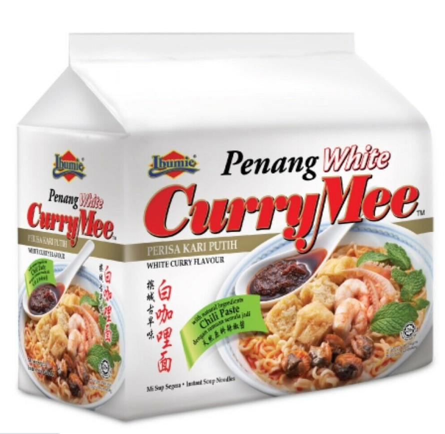 Primary image for MALAYSIAN DELICIOUS INSTANT NOODLES PENANG WHITE CURRY MEE(4x105gm) EXPRESS SHIP
