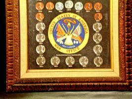 WARTIME COINAGE FRAMED Collectible Coins WWII Era AA19-CN6037 image 5