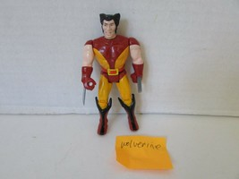 "1991 MARVEL ACTION FIGURE WOLVERINE TOY BIZ 4.5"" LOOSE  L133 - $6.81"