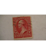 Rose Vintage USA Used 2 Cent Stamp - $7.86