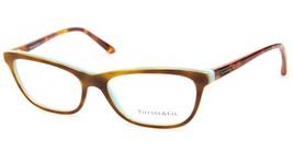 New Tiffany & Co. Tf 2078 8164 Light Havana Eyeglasses Frame 53-16-140 B33 Italy - $115.82