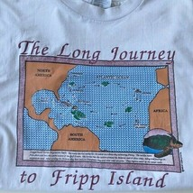 Fripp Island T Shirt Sz XL VTG Long Journey Turtle Migration Loggerhead ... - $29.09