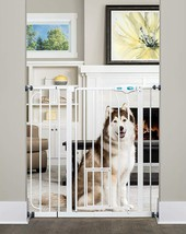 DOG GATE INDOOR TALL PET FENCE BABY BARRIER ADJUSTABLE EXTRA TALL AND WI... - $62.71