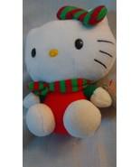 2012 TY Beanie Baby Christmas Hello Kitty 6 Inch Plush w/ Xmas Scarf and... - $7.19
