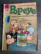 Popeye Comic Book Dell Comics October 1960 No. 55 - $9.79