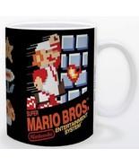 Super Mario Bros Original Game Box Cover 11oz Gamer Coffee Mug Licensed ... - $15.83