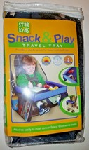 Star KIds Portable Snack N PlayTravel Tray For Treats & Toys Fit Car or ... - $23.51