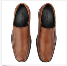 Kenneth Cole Mens Black or Brown Leather Zapato Slip-On Loafer Shoes New in Box image 4