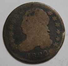 1823 Capped Bust Dime 10¢ Coin Lot# MZ 4321