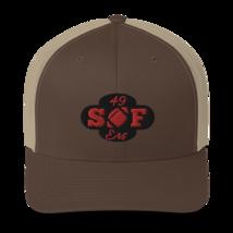 San Francisco Hat / 49ers Hat / Trucker Cap. image 9