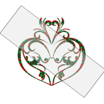 Flower Heart 3a-Digtial Clipart-Art Clip-Jewelry-T shirt-Notebook-Scrapbook - $3.99
