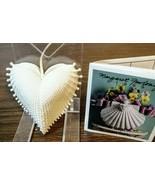 "1996 Margaret Furlong 2.5"" ""Wings of Love""Heart Ornament W/ Original Box... - $24.74"